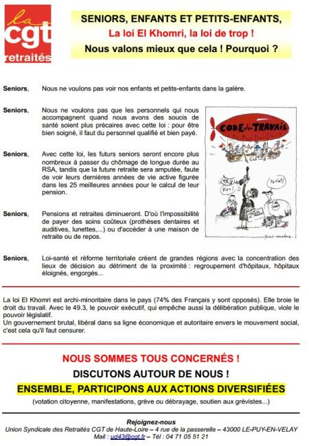 26 mai 2016 tract retraites 43 vs