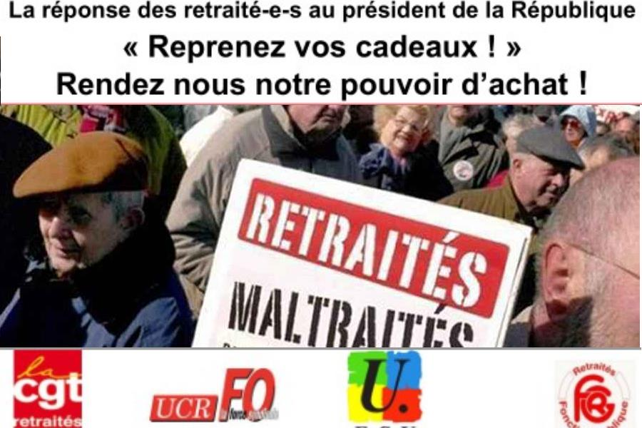 retraites appel vs
